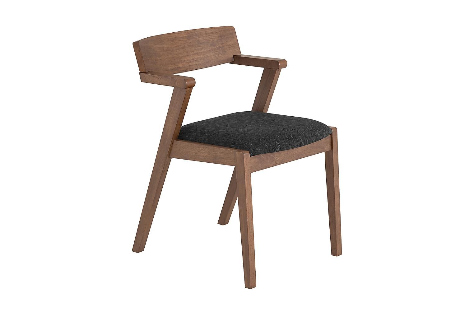 LESLIE Tuoli Ruskea/Musta