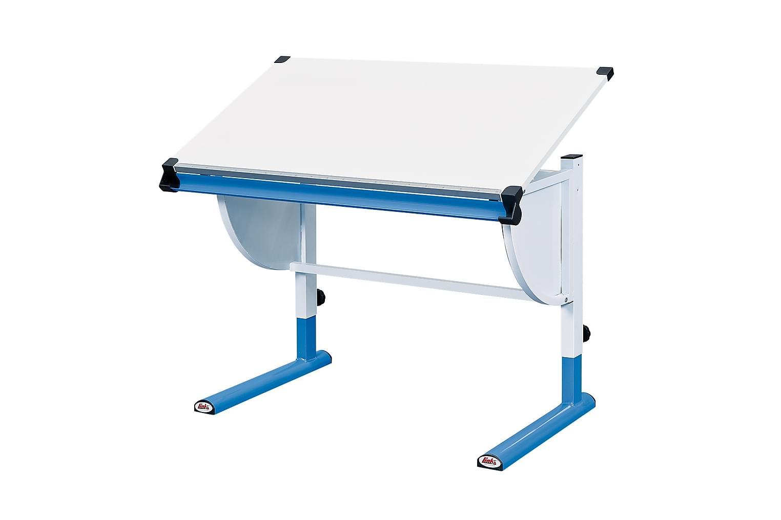 CETRIX Kirjoituspöytä Lasten Valkoinen/Sininen