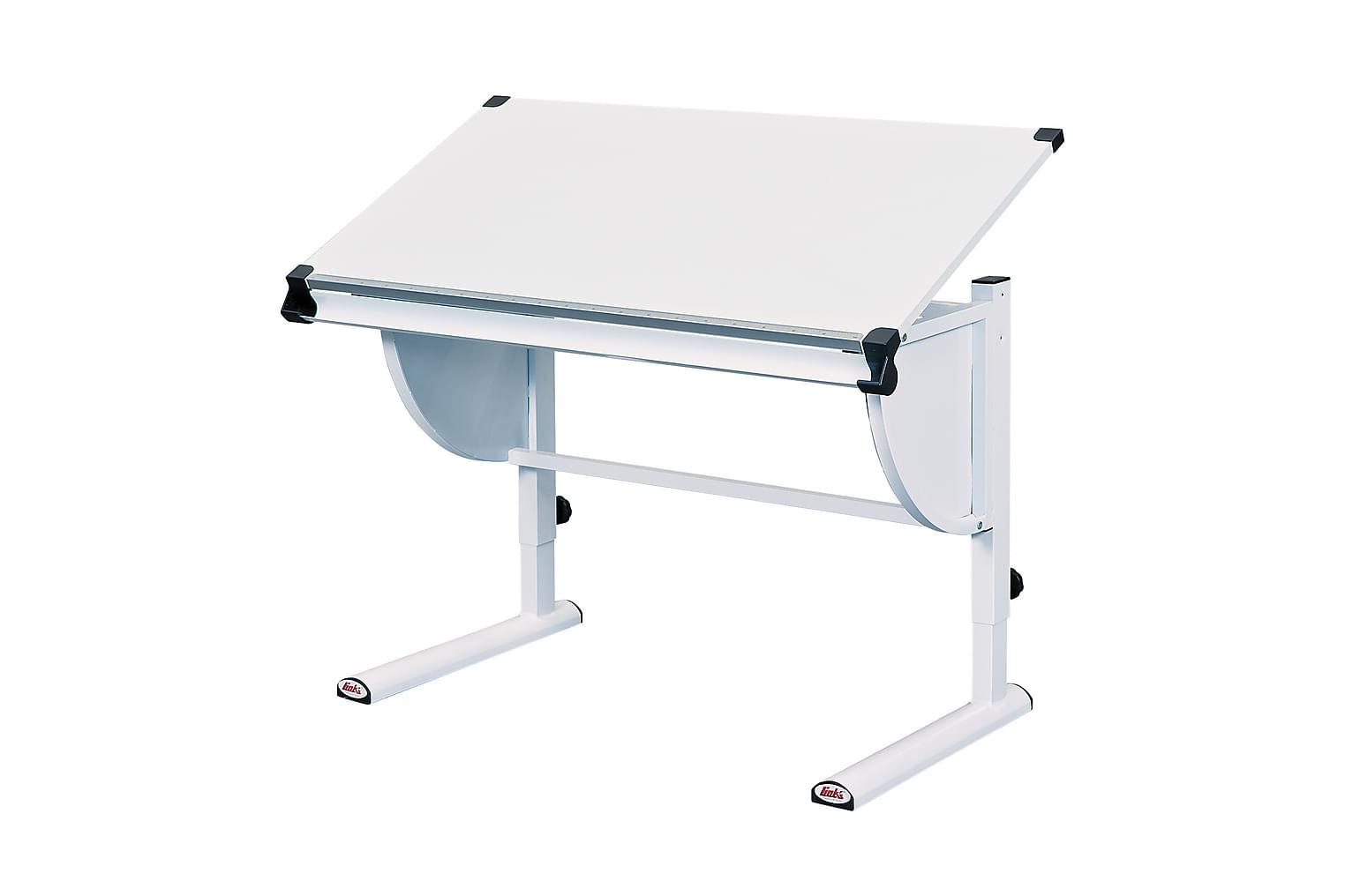 CETRIX Lasten Kirjoituspöytä Valkoinen