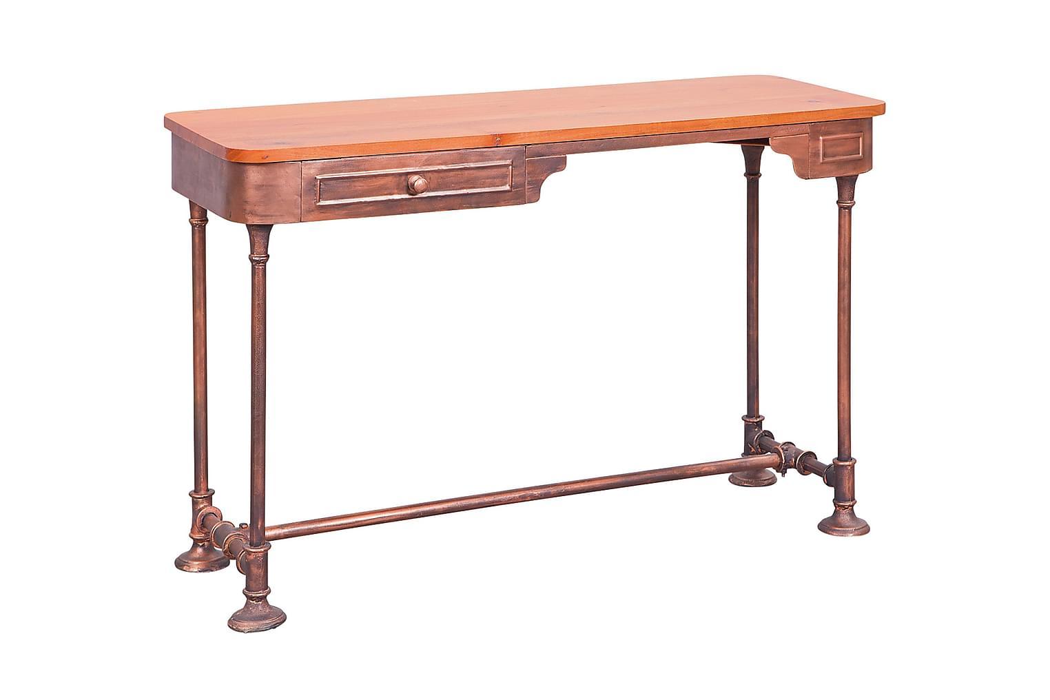 JOAQUIN Kirjoituspöytä Akaasia/Kupari