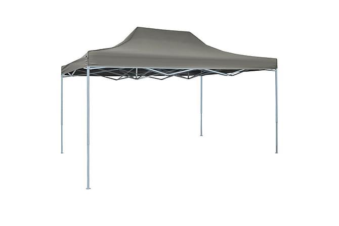 Nya Pop-Up hopfällbart tält 3x4,5 m antracit - | Trademax.se QW-54