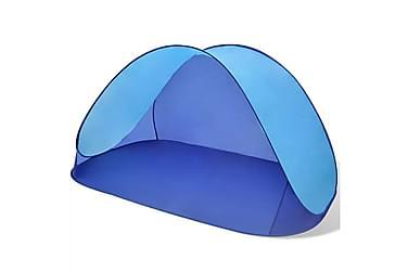 Strandtält Ljusblått UV-beständigt vattenavvisande