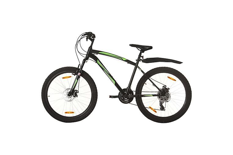Mountainbike 21 växlar 26-tums däck 42 cm svart - Svart - Sport & fritid - Friluftsliv - Cyklar