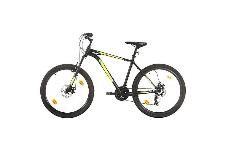 Mountainbike 21 växlar 27,5 tums däck 42 cm svart - Svart - Sport & fritid - Friluftsliv - Cyklar