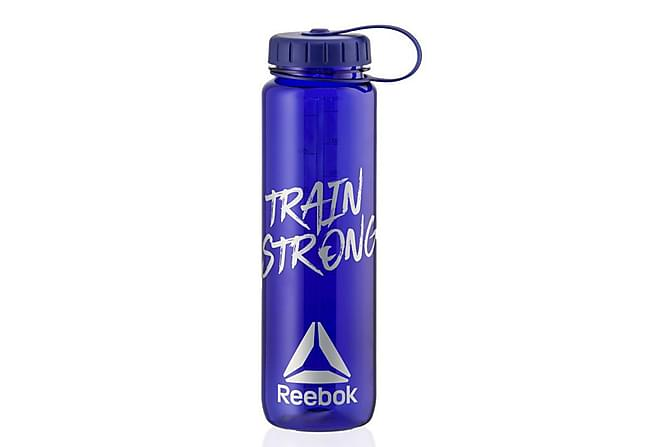 Reebok Wide Mouth Water Bottle-1000ml-Train Strong - Sport & fritid - Hemmagym - Träningsredskap
