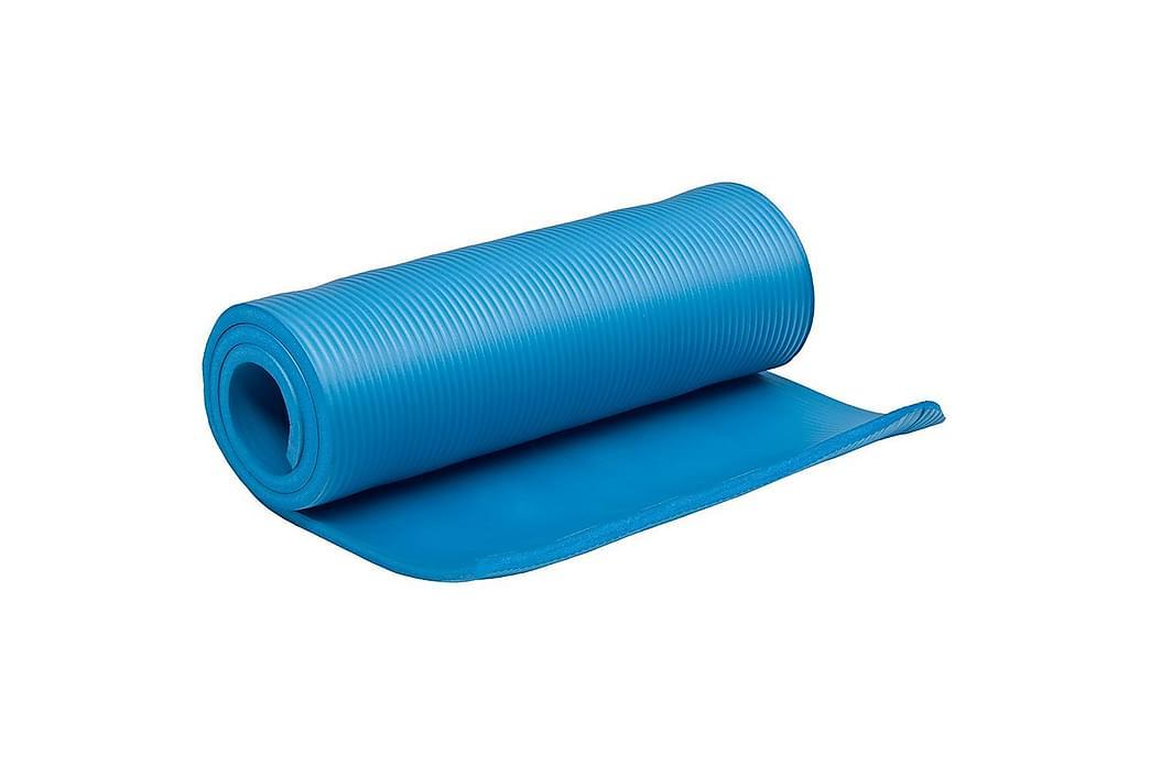 Träningsmatta Master Fitness 15 mm - Blå - Sport & fritid - Hemmagym - Träningsredskap