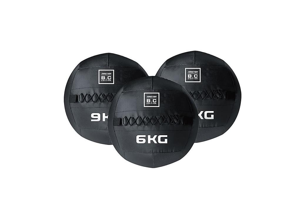 Viktboll Master Fitness Wallball/Crossball - 9 kg - Sport & fritid - Hemmagym - Träningsredskap