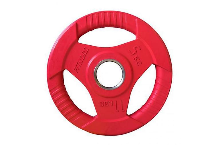 FitNord Weight plate Tri Grip - 5 kg - Sport & fritid - Hemmagym - Vikter & skivstänger