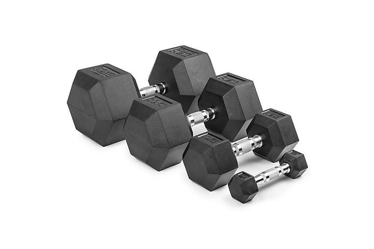 Gymstick Hex Dumbbell Singles - 10 kg - Sport & fritid - Hemmagym - Vikter & skivstänger