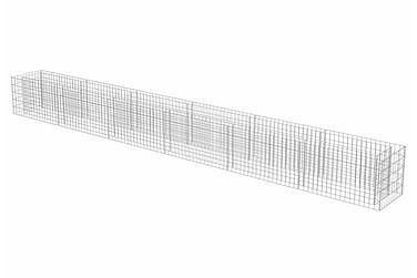 Planteringsgabion i galvaniserat stål 540x50x50 cm