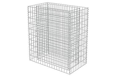Planteringsgabion i galvaniserat stål 90x50x100 cm