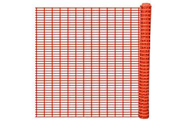 Säkerhetstängsel med spaljémönster Orange 50 m