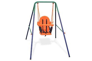 Barngunga set m. säkerhetsbälte orange