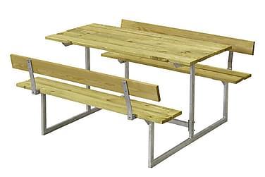 Basic bord- och bänkset för barn med 2 ryggstöd - tryckimpre