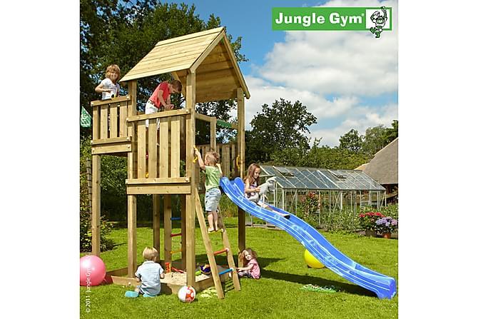 NSH Jungle Gym Palace Lektorn Komplett utan Rutschkana - Natur - Trädgård - Hobby & lek - Lekplats & lekplatsutrustning