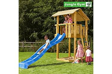 NSH Jungle Gym Shelter Lektorn Komplett utan Rutschkana