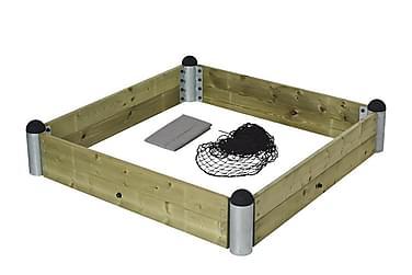 Pipe sandlådekit - inkl. tryckimpregnerade plankor