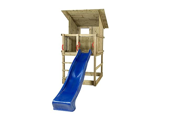PLUS Play lektorn med snedtak inkl. blå rutschbana - Trädgård - Hobby & lek - Lekplats & lekplatsutrustning