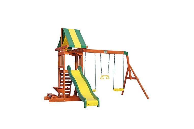 Sunnydale Lektorn med Gungor Brun - Backyard Discovery - Trädgård - Hobby & lek - Lekplats & lekplatsutrustning