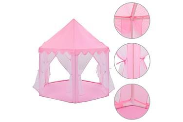 Lektält prinsessa rosa
