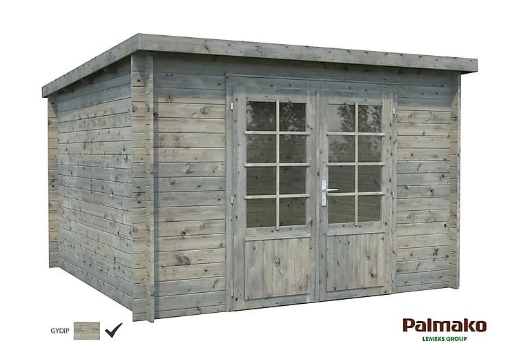 Ella Lekhus 8,7 m2 Gran/Grå - Palmako - Trädgård - Hobby & lek - Lekstuga