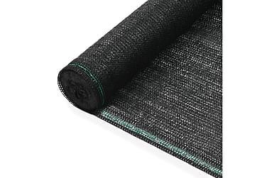 Vindskydd för tennisplan HDPE 1,8x25 m svart