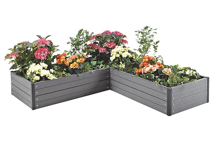 NSH Hortus Planteringslåda Vinkel 24x140x140 cm