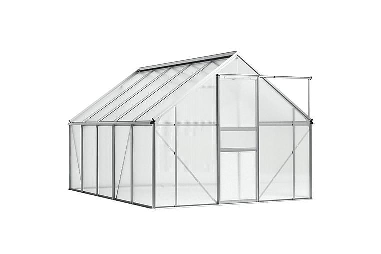 Växthus aluminium 15,1 m³