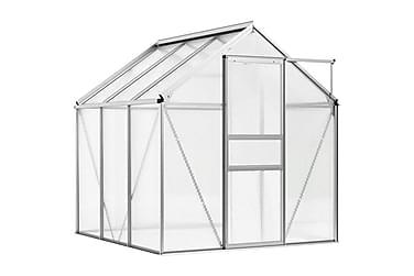 Växthus aluminium 7,04 m³