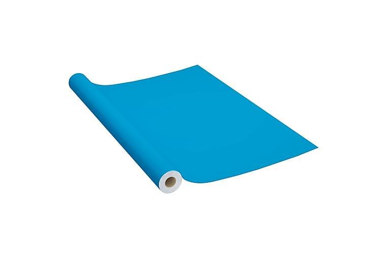 Dekorplast azur 500x90 cm PVC - Blå - Trädgård - Trädgårdsdekoration & utemiljö - Fönsterfilm