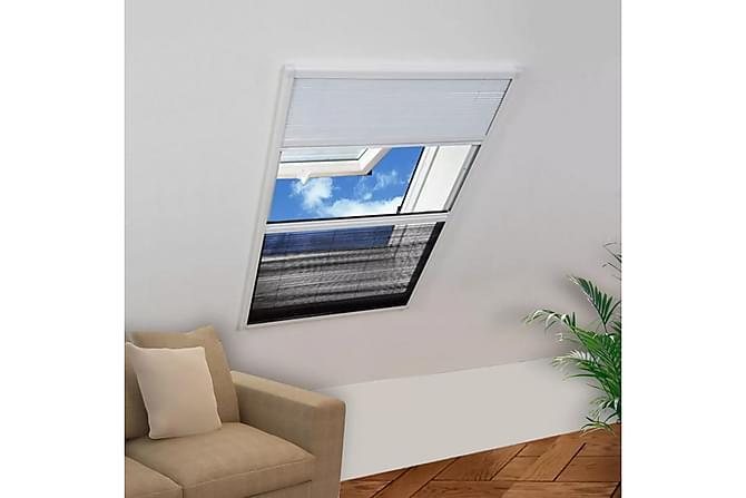 Bra Lemuel Insektsnät Fönster Plisserat med Jalusi 60x80 cm - Vit DF-67
