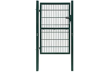 2D Grind (enkel) grön 106 x 170 cm