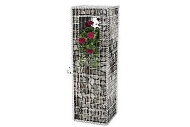 Gabionkorg stolpform 50x50x160cm