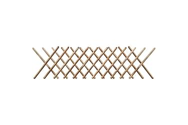 Jägarstaket 250x80 cm FSC impregnerat trä expanderbart