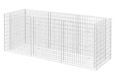 Planteringsgabion i stål 270x90x100 cm