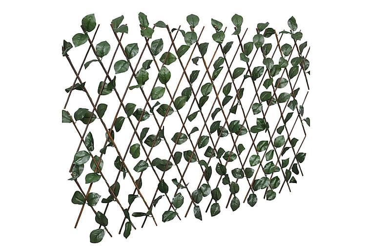 Spaljéstaket pil 5 st med konstlöv 180x60 cm - Trädgård - Trädgårdsdekoration & utemiljö - Staket & grindar