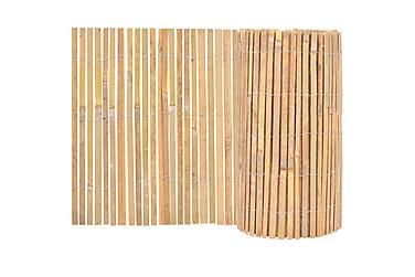 Trädgårdsstängsel bambu 1000x50 cm