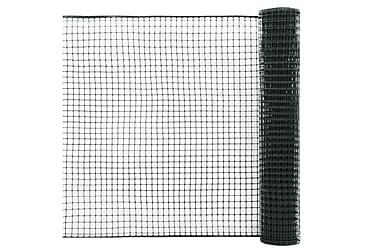 Stängselnät HDPE 10x1,2 m grön