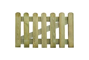Trädgårdsgrind 100x60 cm FSC-trä
