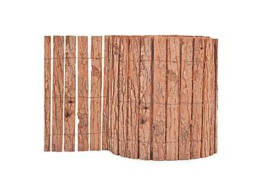 Trädgårdsstängsel bark 1000x30 cm