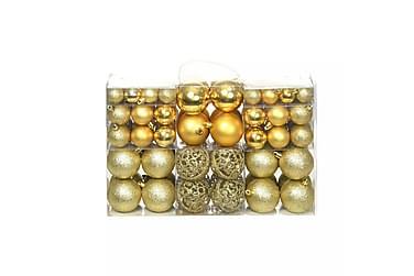 Julgranskulor 100 delar set 6 cm guld