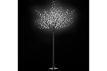 Julträd LED inomhus/utomhus IP44 250 cm vit