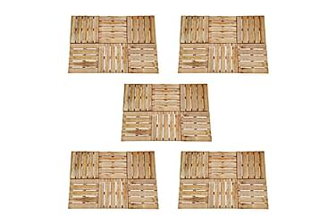 Altantrall 30 st 50x50 cm FSC-trä brun