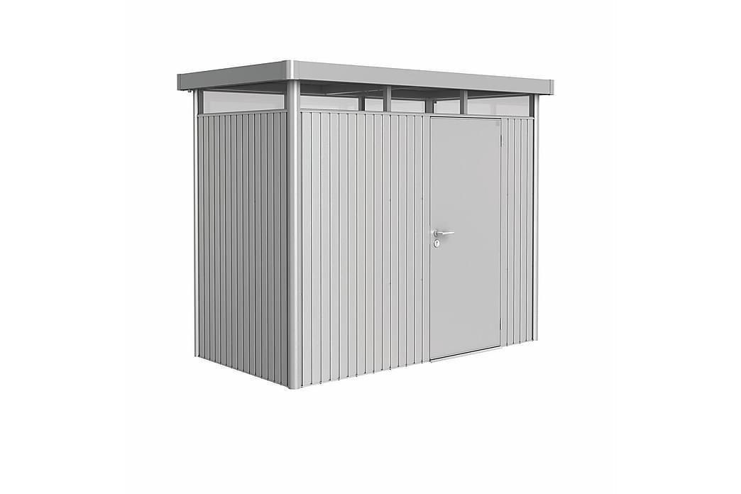 HighLine H1 Trädgårdsskjul med Standarddörr Silver - Biohort - Trädgård - Utomhusförvaring - Förrådsbod