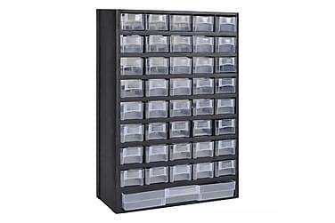 Sortimentskåp med 41 lådor