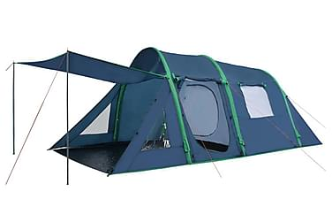 Campingtält med uppblåsbara stänger 500x220x180 cm grön
