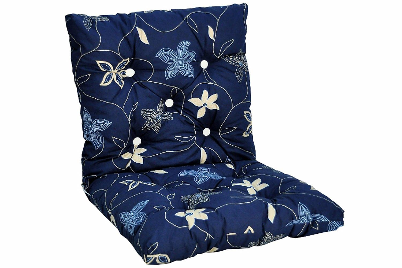 BROBY Lågvik Flokkipehmuste Sininen/kuviollinen