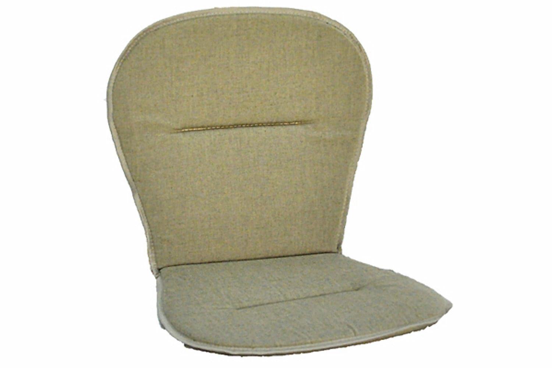 BROBY Lågvik Pinottavan tuolin pehmuste Beige