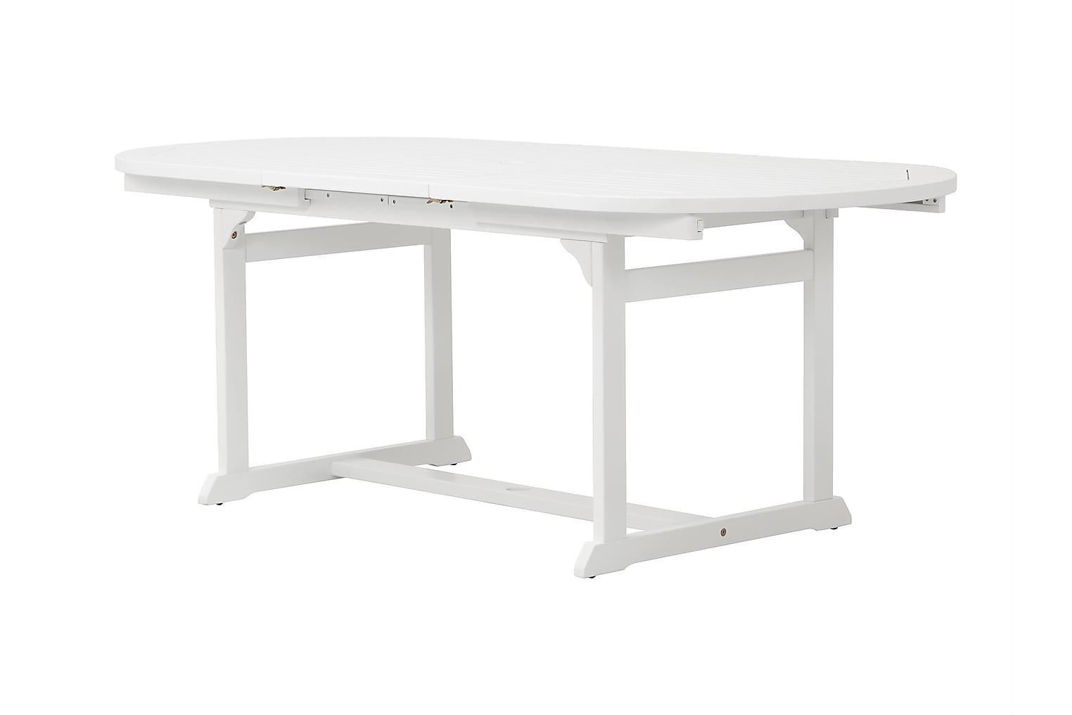 LAMBERT Jatkettava Pöytä 150 Valkoinen