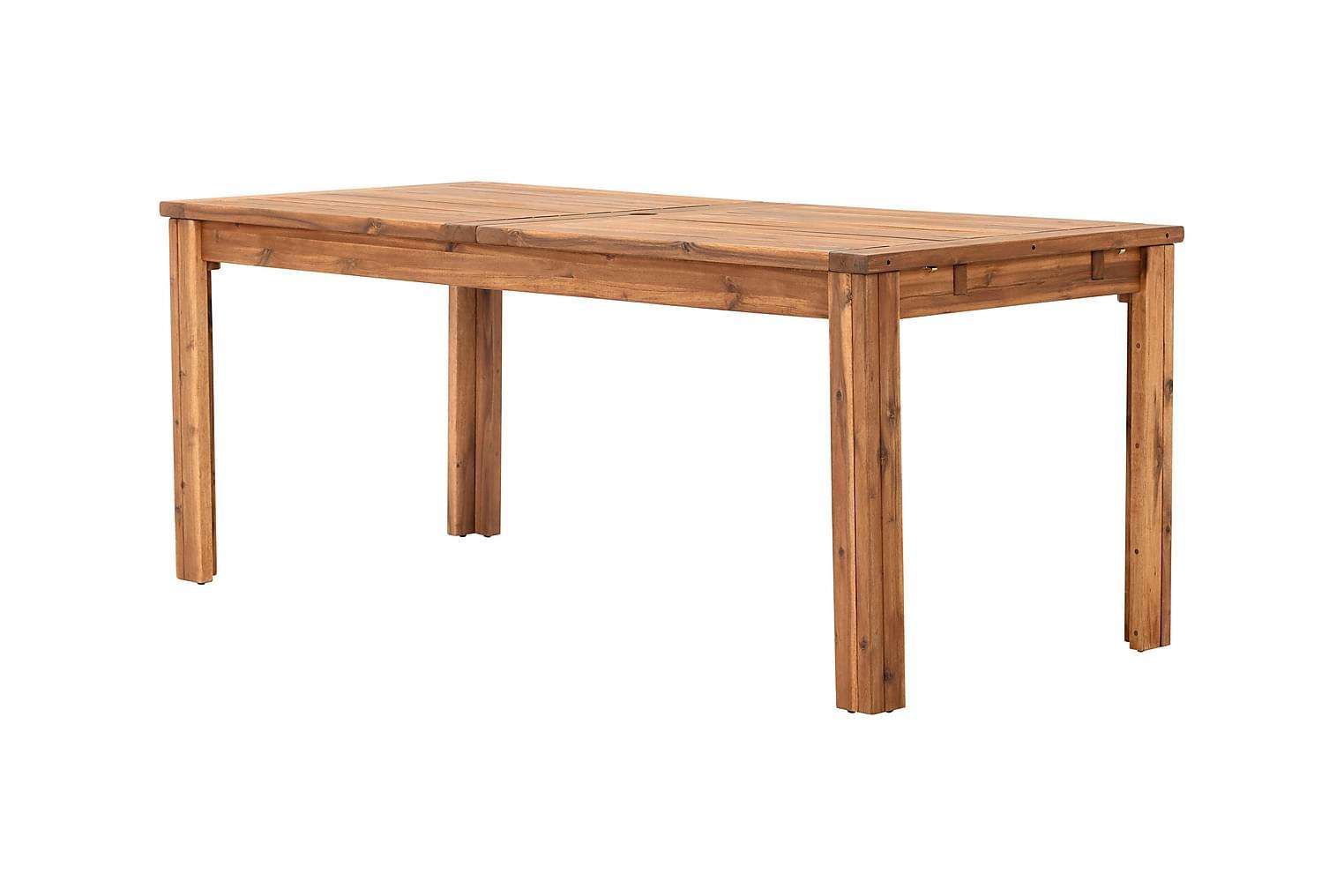LAMBERT Klaffipöytä 180 Luonnonvärinen